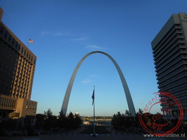 De arch verbindt het zuiden met het noorden en het westen met het oosten in St Louis