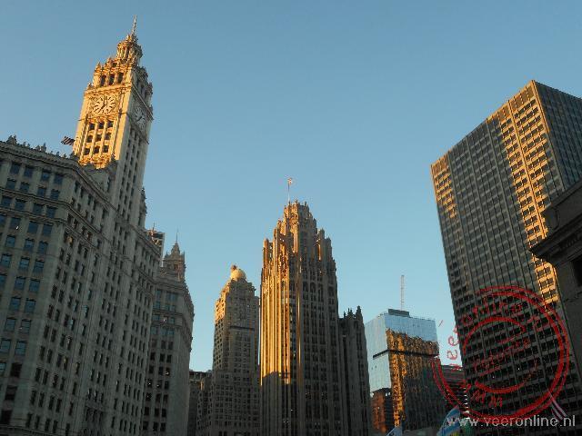 De wolkenkrabbers van Chicago
