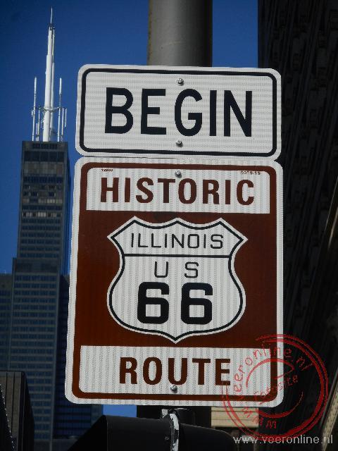 Het officiële begin van de Historic Route66