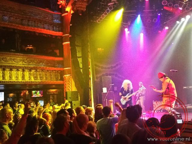 Een optreden in the house of blues in Chicago