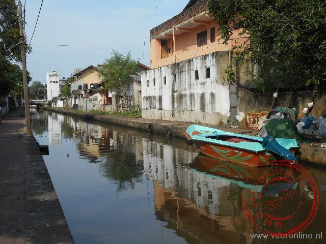 De Dutch Canal in Negombo