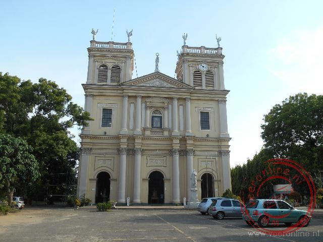 De St Mary Church in Negombo
