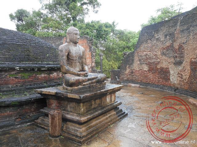 De Vatadage dagobe in Polonnaruwa