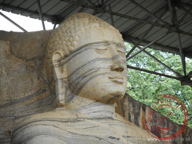 Het standbeeld van Gal Vihare