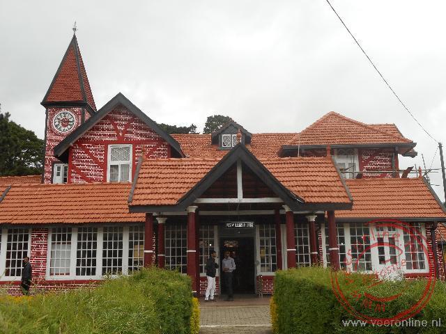 Het postkantoor van Nuwara Ellya