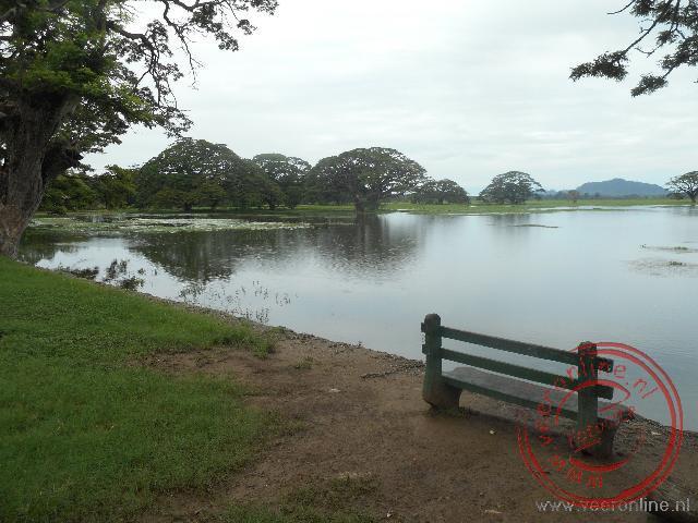 Het binnenmeer bij Tissamaharama