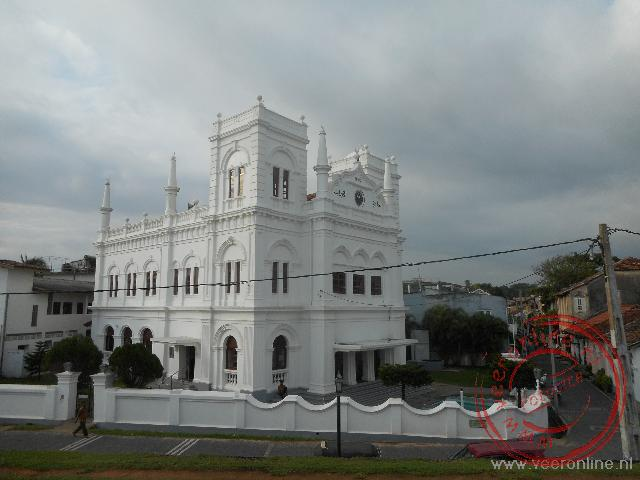 De opvallende moskee van Galle
