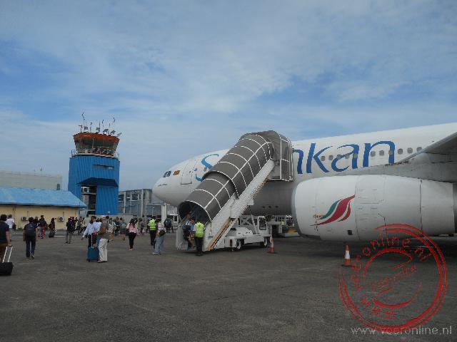 Klaar voor vertrek naar de Malediven