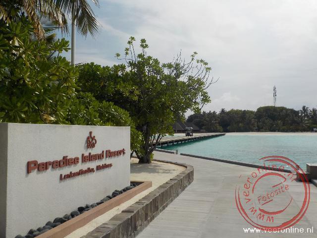 Het luxe Paradise Island resort