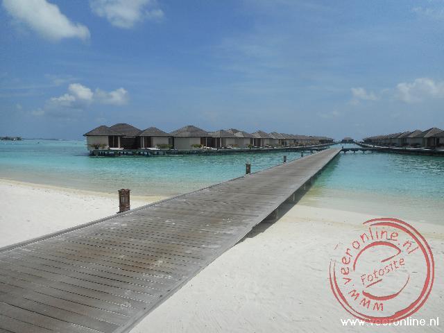 Heerlijk genieten op het paradijs eiland op de Malediven