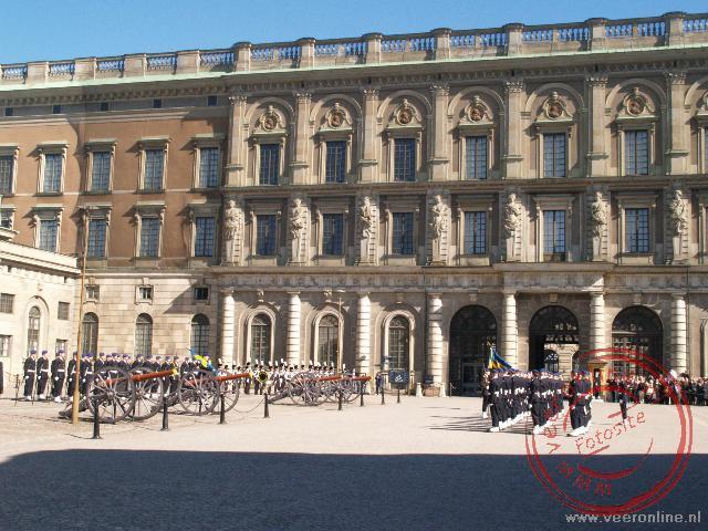 Het Kungliga Slottet, het koninklijk paleis
