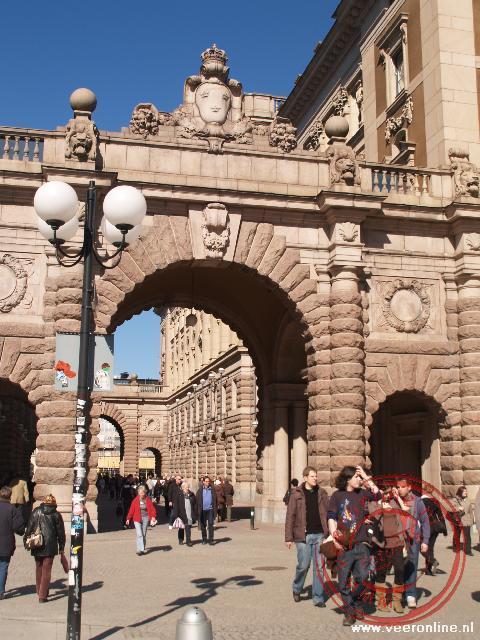 De toegangspoort naar de oude stad