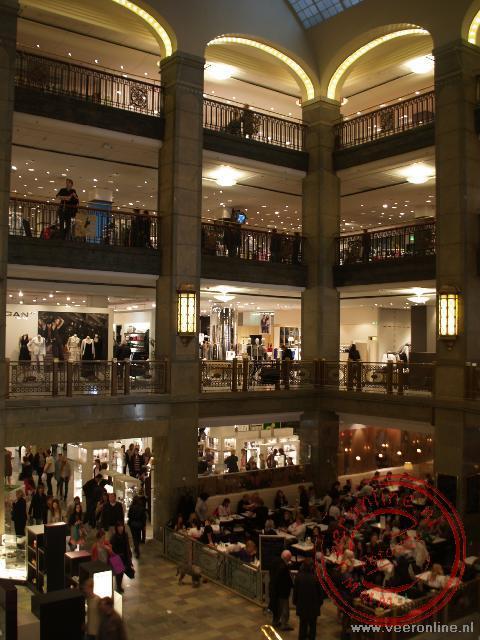 Het luxe Nordiska Kompaniet warenhuis