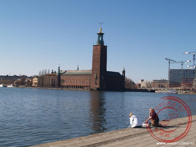 Het stadhuis van Stockholm