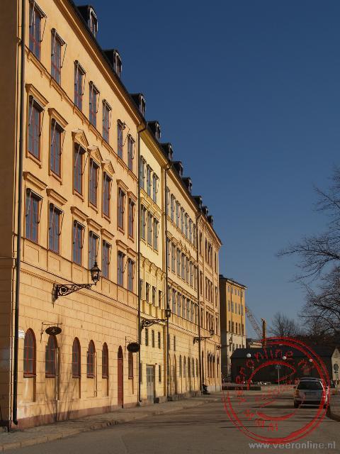 De achterzijde van het Paleis Wrangelska
