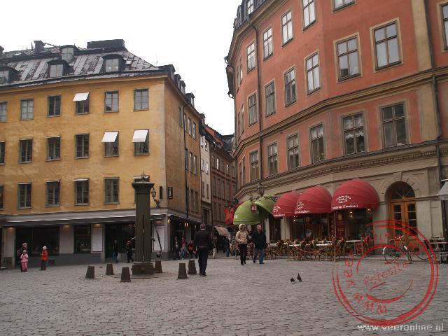 De oude wijk Gamla Stan