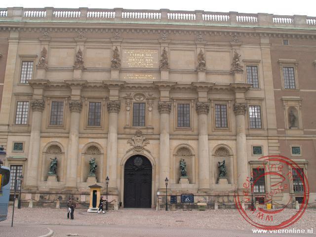 Het Kungliga Slottet in Stockholm