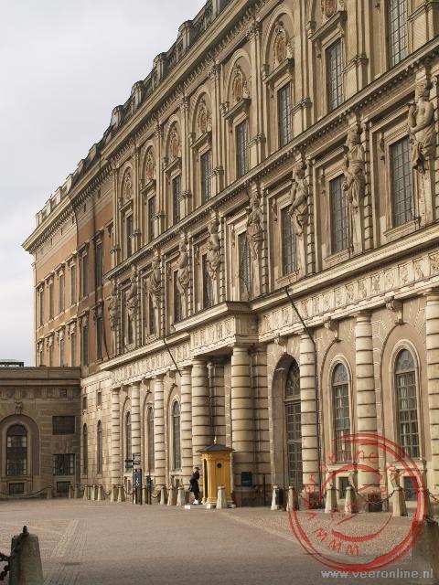 Het koninklijk paleis in Stockholm