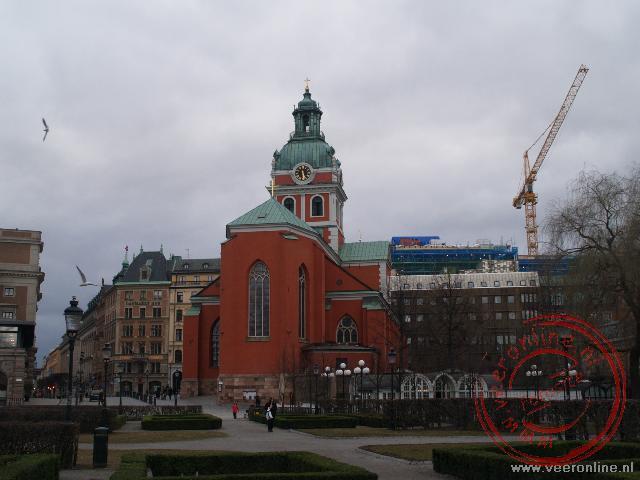 De Jakobs Kyrka in het centrum van Stockholm