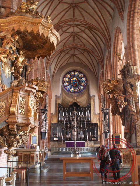 De Storr Kyrkan in oud Stockholm