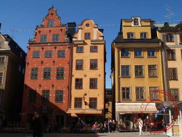 Gekleurde huisjes en gezellige pleinen maken Stockholm tot een pracht stad