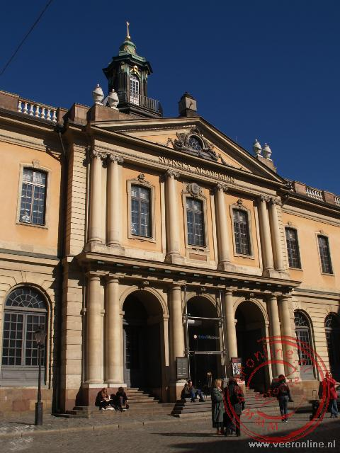 Vroeger was hier de beurs gevestigd, tegenwoordig is het een museum