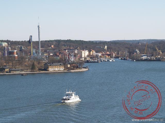 Uitzicht over Stockholm vanaf de zuid-helling