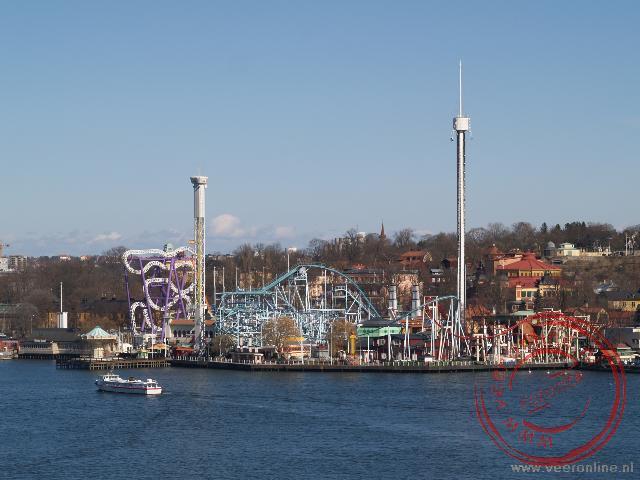 Het Tivoli pretpark in Stockholm
