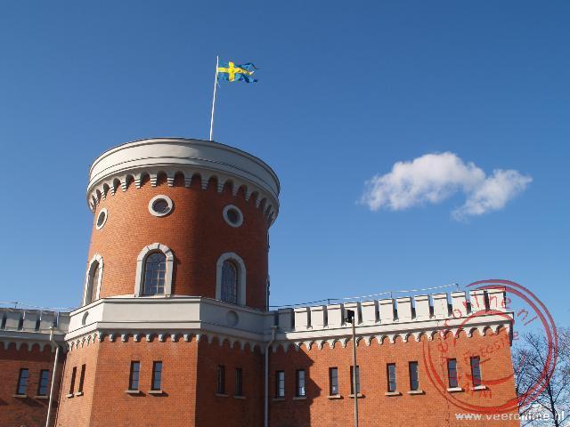 Het kasteel op het kleine eiland Kastellholmen