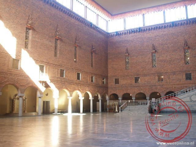 In de blauwe zaal van het Stadshuset wordt ieder jaar het bal gehouden ter ere van de uitreiking van de Nobel prijzen