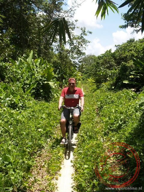 Op de fiets op weg naar Peperpot