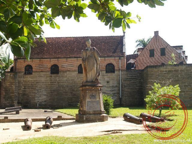 Fort Zeelandia in Paramaribo