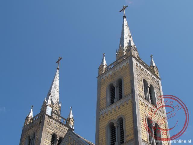De torens van de kathedraal