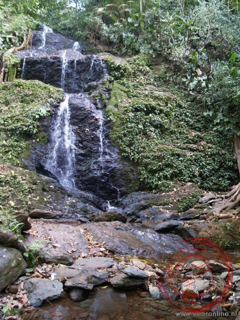 De Irene waterval, het eindpunt van de wandeling
