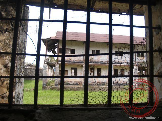 De voormalige Franse strafgevangenis in Frans Guyana
