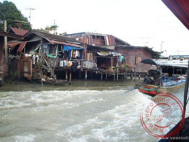 Een rondvaart door de kanalen van Bangkok