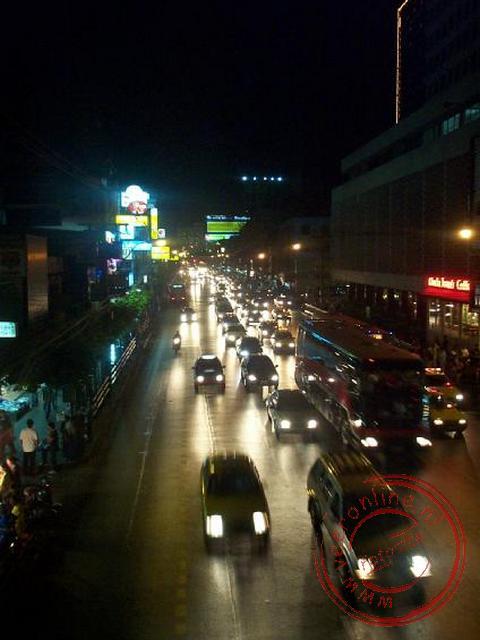 Bangkok bij avond