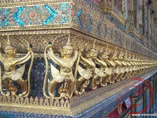 Details van de Wat Phra Kaeo