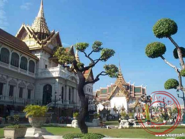 Het paleis van de monoarch