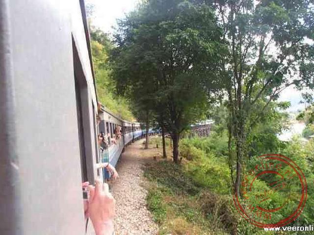De treinreis over de Birma spoorlijn