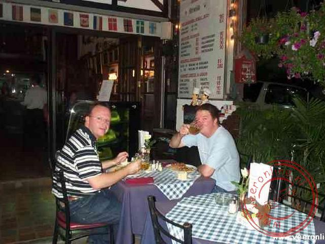Rondreis Thailand - Eten in Chaing Mai