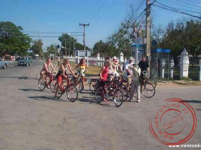 Op de fiets door Sukhothai, de oude hoofdstad