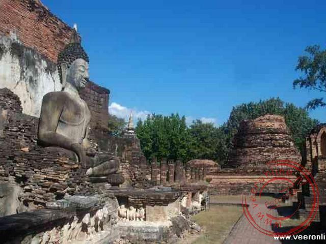 De Wat Malhatat in Sukhothai