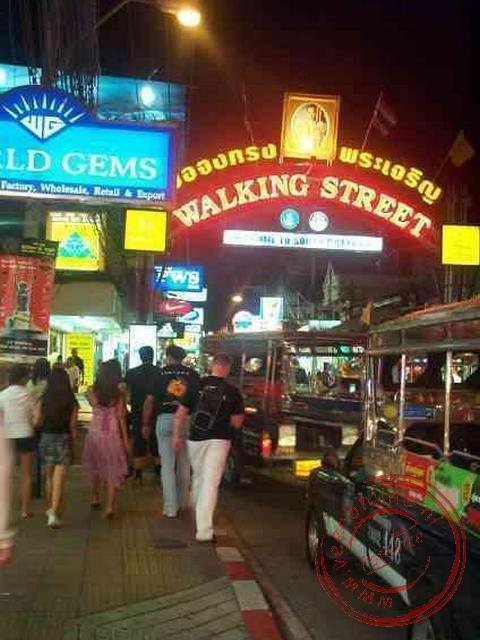Het nachtleven van Pattaya
