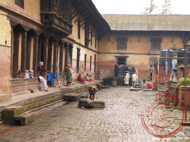 Het bejaardentehuis nabij het tempelcomplex Pashupatinath