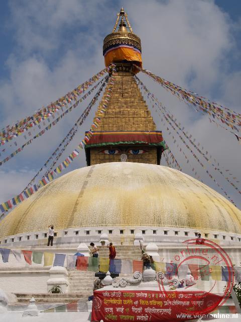 Het Tempelcomplex Bodhnath
