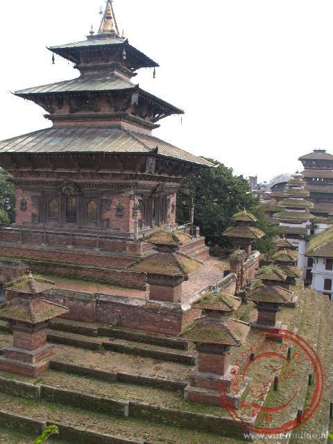 Het Durbar Square in Kathmandu