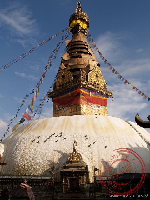 De Swayambunath tempel