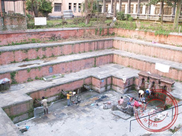 De wasplaats in de wijk Thamel