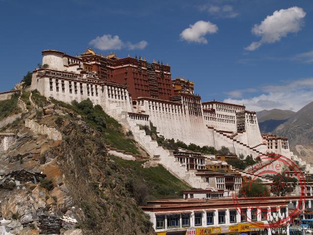 Het Potala paleis in Lhasa